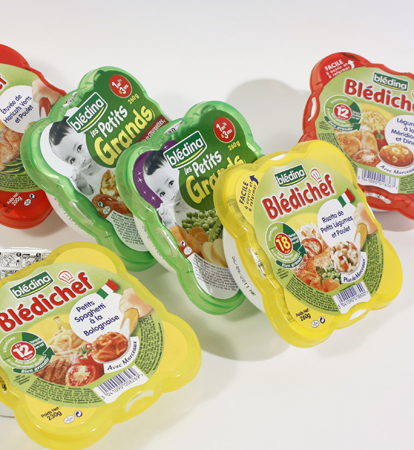 Blédina baby food: tailored lid designs