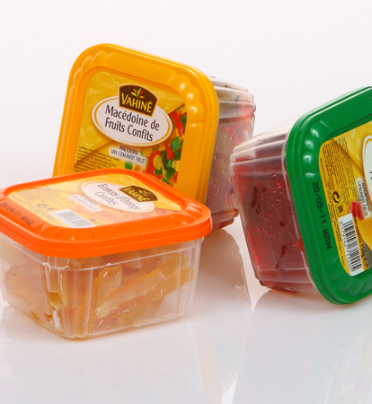 McCormick: tailor-made containers for Vahiné glacé fruit
